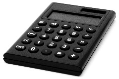 Image of a calculator as there are child support calculators on this page